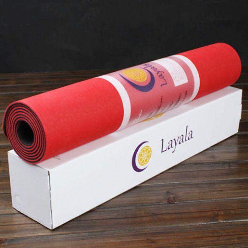 Layala(ラヤラ) ECO ヨガマット プレミアムローズレッド 商品写真