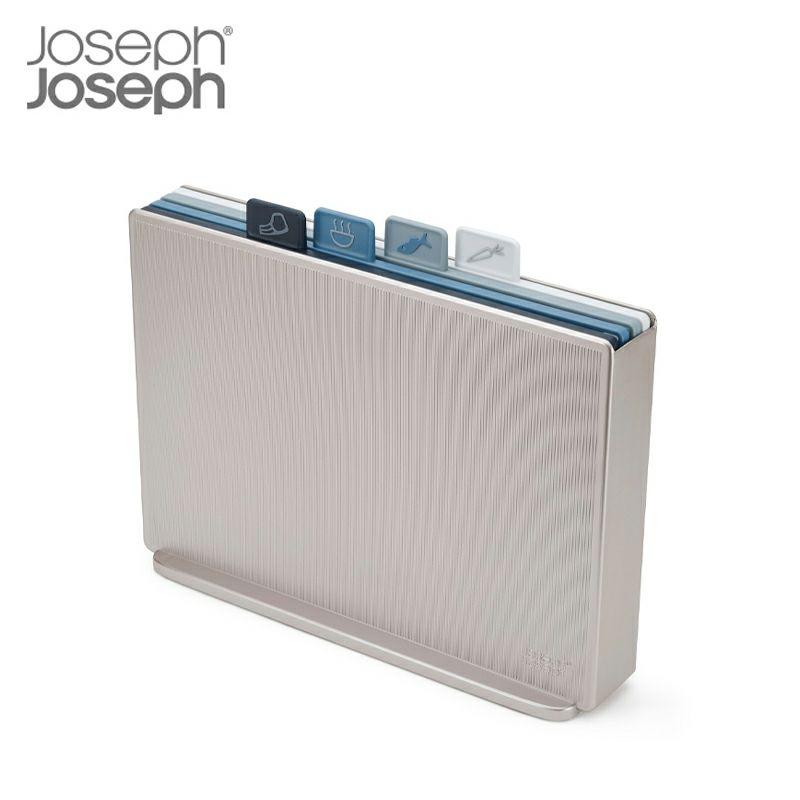 ジョセフジョセフ インデックス付まな板 アドバンス2.0 ラージ スカイ