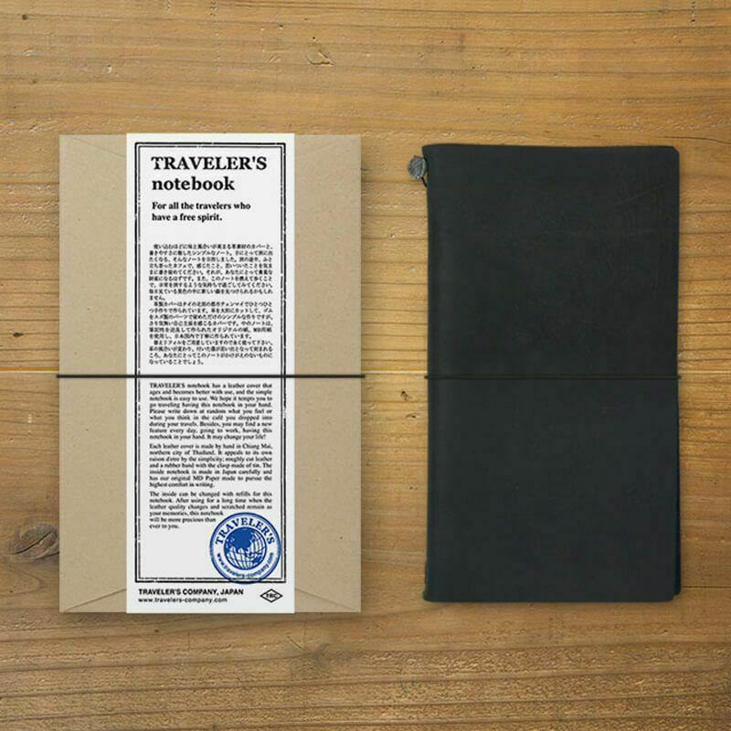 トラベラーズノート スターターキット(レギュラーサイズ)