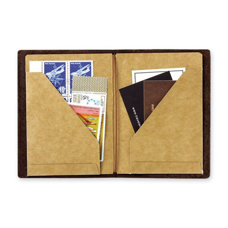 トラベラーズノート パスポートサイズリフィルクラフトファイル