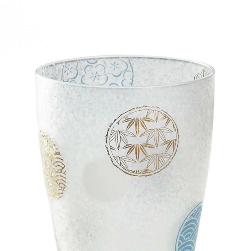プレミアム丸紋ビアMペアセット 石塚ガラス アデリア