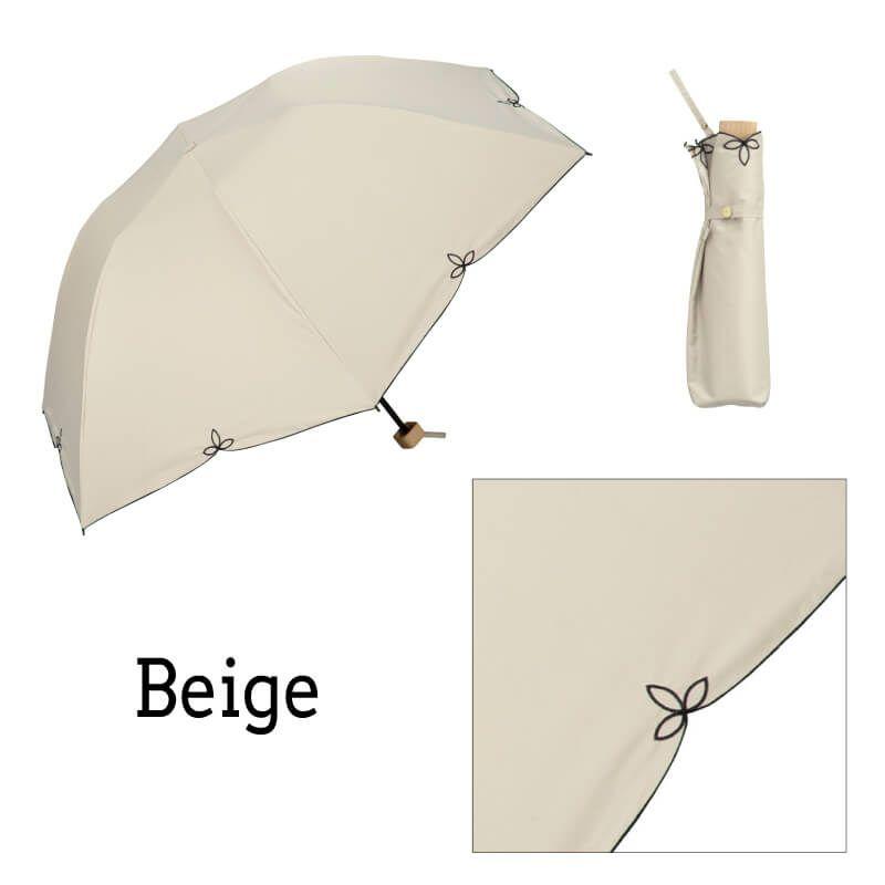 Wpc.折りたたみ日傘 遮光バードケージワイドスカラップmini